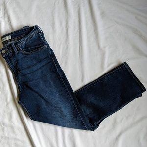 Levi's mid rise crop skinny Jean size 10